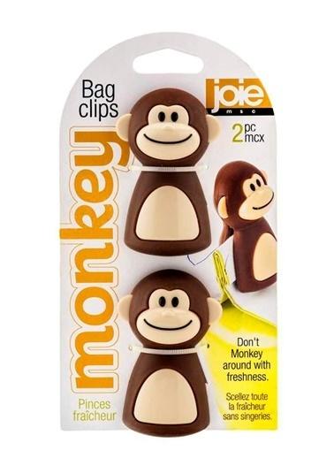 Monkey 2li Poşet Klipsi-Joie